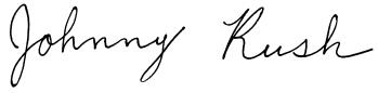 Jonny Rush SIG